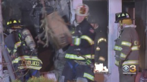 Firefighters Battle House Fire In Marlton, Report Hoarding Conditions