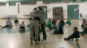 WATCH: New Jersey Mom Returns From Service Overseas, Surprises Daughter On Her Birthday