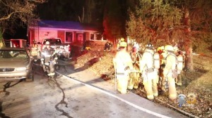 Woman Injured After Flames Rip Through Home In Springfield