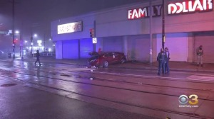 Driver Killed After Crashing Into Family Dollar Store In West Philadelphia