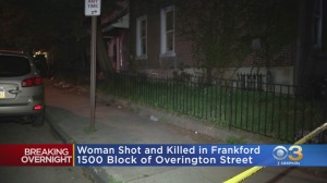 Police: Woman Shot In Face, Killed In Frankford