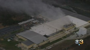 4-Alarm Fire Damages Johns Manville Plant In Berlin
