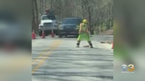 WATCH: Construction Worker In Devon Spotted Dancing On The Job