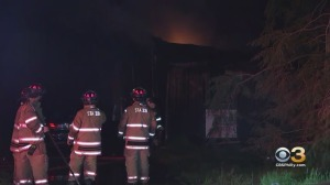 Homeowner Escapes Burlington County House Fire With Minor Injuries, Firefighters Say