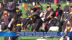 Temple University Salutes Its Graduates With Mix Of Virtual, In-Person Ceremonies