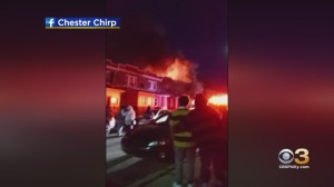 Reports Of Explosions, Person Trapped Following 2-Alarm House Fire In Chester