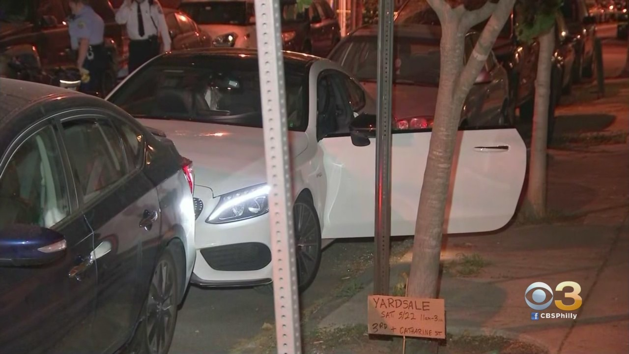 Man Dead, Woman Critically Injured After Ambushed While Sitting In Car In Philadelphia's Queen Village Neighborhood