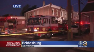 2 Children, Woman Rescued From Burning Rowhome In Bridesburg; Fire Investigated As Possible Arson