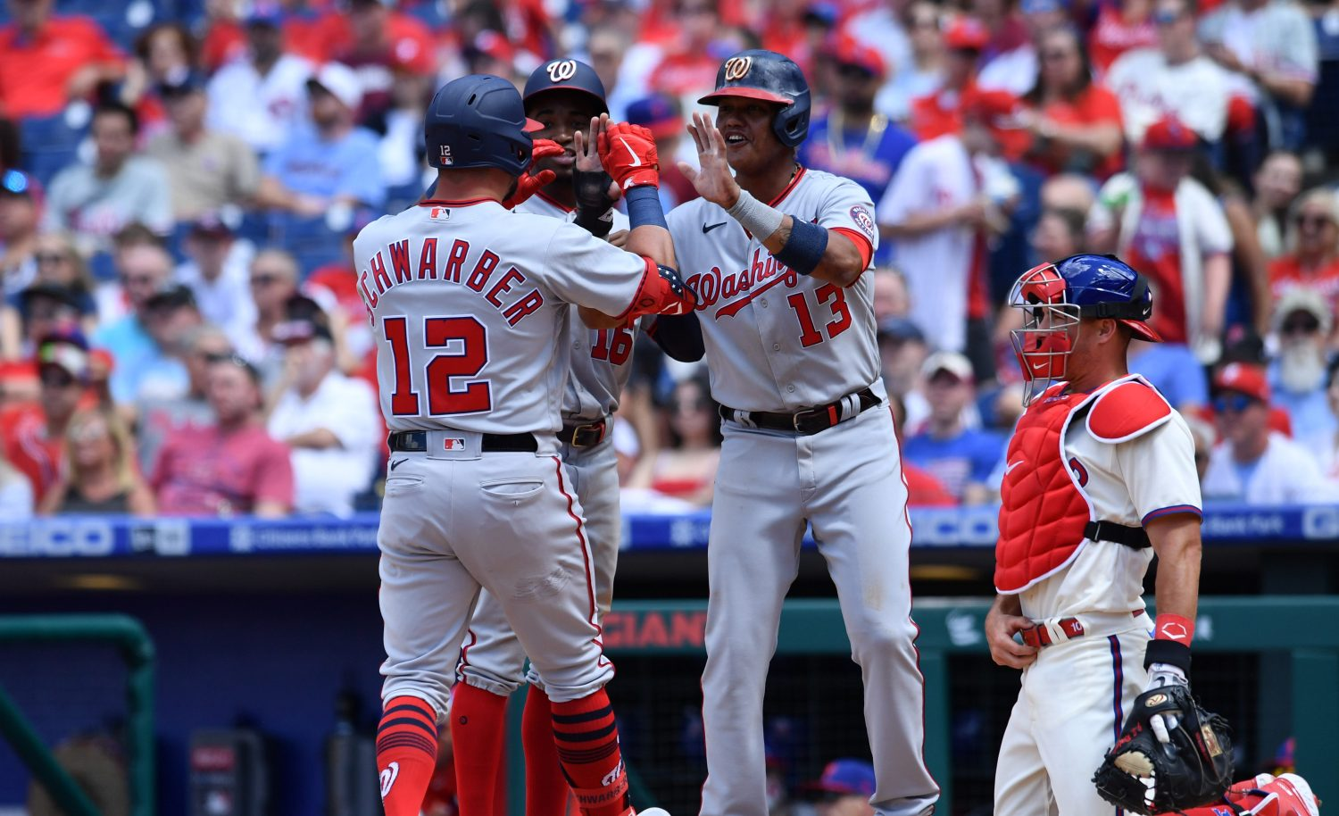 Phillies' Pitching Blows Three Crucial Leads In 13-12 Loss To Nationals