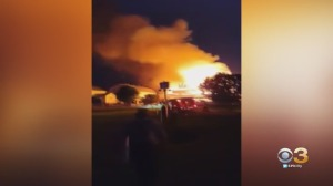 Dairy Farm in Honey Brook Township, chester county barn fire