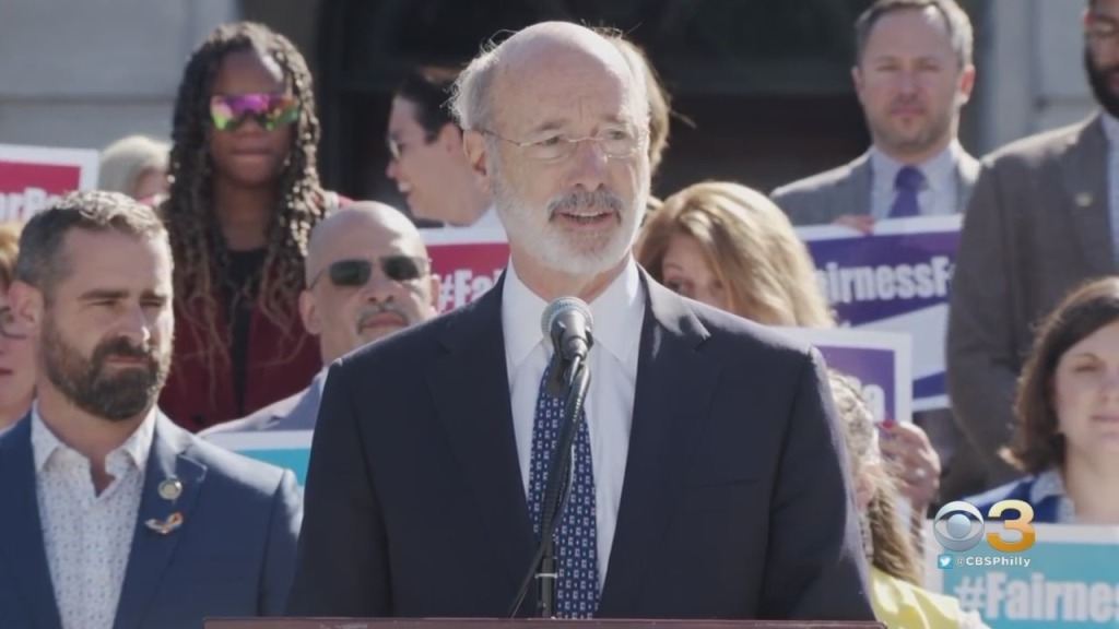 Pennsylvania Gov. Wolf Calls On Lawmakers To Pass Fairness Act, Preventing Discrimination Based On Sexual Orientation, Gender