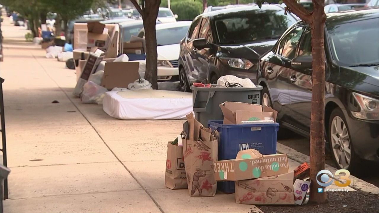 Some Philadelphia Residents Facing Fines For Piled Up Curbside Trash As Pickups Delayed