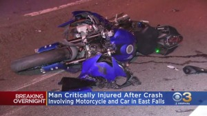 Motorcyclist Critically Injured After Colliding With Car On Roosevelt Expressway