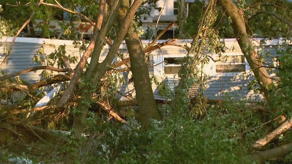 'I Thought I Was Done': Residents Of Trevose Mobile Home Park Pick Up The Pieces After EF-3 Tornado