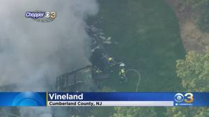 Vineland Home Found Engulfed In Flames, Cause Of Fire Under Investigation