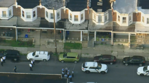 Large Police Presence Respond To Home In Olney
