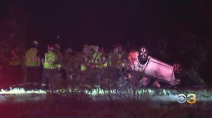 2 Adults, Multiple Children Injured Following Serious Crash On New Jersey Route 55 In Vineland
