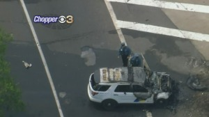 New Jersey State Police Trooper Injured In Crash On I-676
