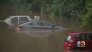 Parts of Pennsylvania, New Jersey Swamped By Storms Causing '100-Year Flood,' National Weather Service