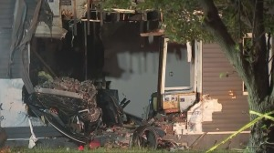 2 People Die After Car Crashes Into Chester Home, Sparks Fire