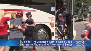 Upper Providence Little Leaguers Return To Phoenixville After World Series Loss
