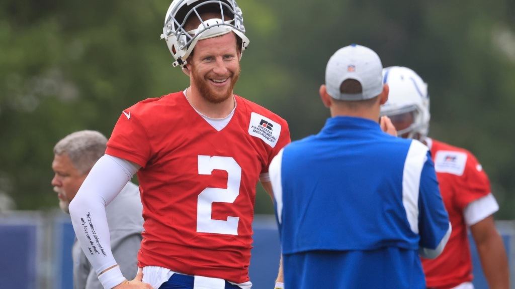 Colts' Carson Wentz Choosing Rest, Rehab For Foot Injury, Remains Out Indefinitely
