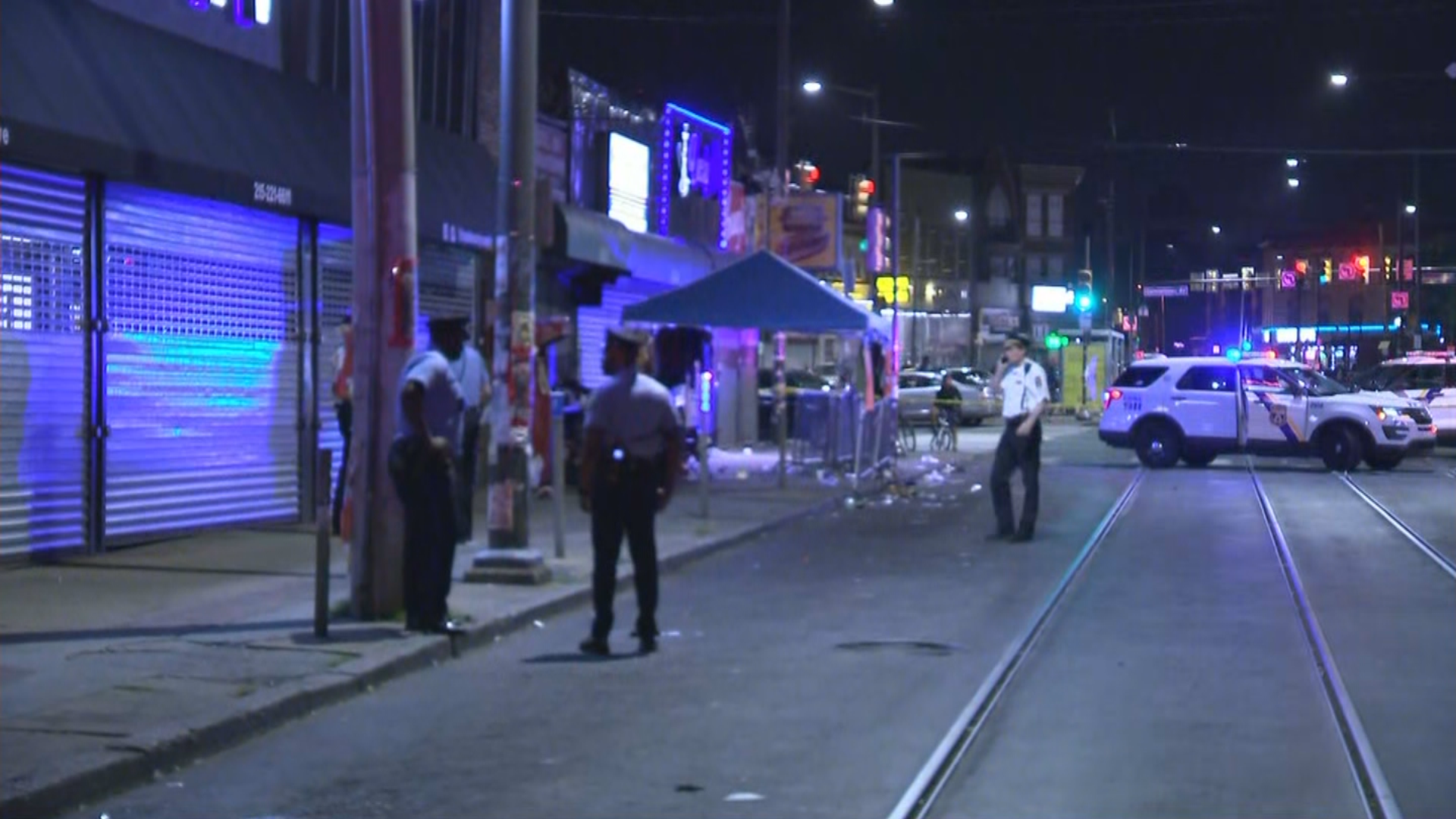 4 Individuals Shot In Drive-By Capturing Throughout Sidewalk Sale In North Philadelphia, Police Say – CBS Philly