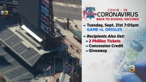 Phillies, Temple Health Team Up To Get Students Vaccinated, Offer Rewards