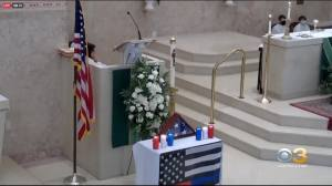 First Responders Hold Prayer In Newtown Square To Pay Tribute To Those Fallen On 9/11