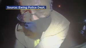Ewing Police Officer Helps Woman Escape Dangerous Floodwater