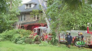 2 People Hospitalized In Overbrook Neighborhood Fire, Officials Say