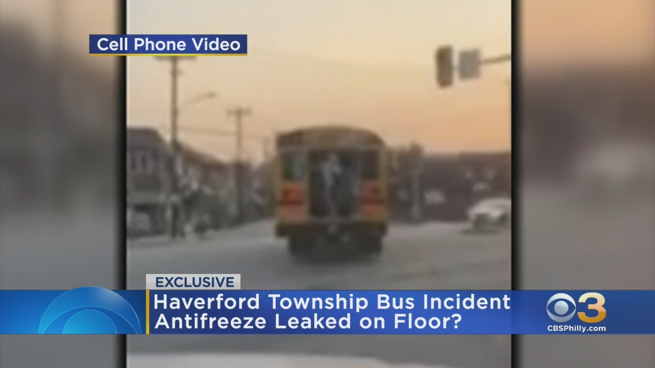 Parents concerned after mechanical issue on bus