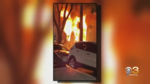 EXCLUSIVE VIDEO: Wilmington Rowhome Engulfed In Flames, 2 People Killed
