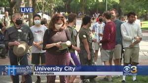 University Of Pennsylvania Honors Victims Of 9/11 With Moment Of Silence On Campus