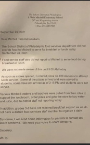 Some Students At Mitchell Elementary School Not Fed School Breakfast, Lunch Due To Staff Shortages