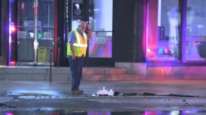 Center City Intersection Damaged By Overnight Water Main Break