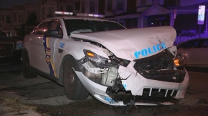 Driver In Custody After Crash That Injured 2 Philadelphia Police Officers